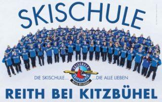 In der Skischule Reith bei Kitzbühel wartet ein engagiertes, motivertes und kompetentes Team auf die Skischulgäste