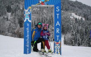 Tolle Leistungen beim Kiddy´s Race der Skischule Reith bei Kitzbühel