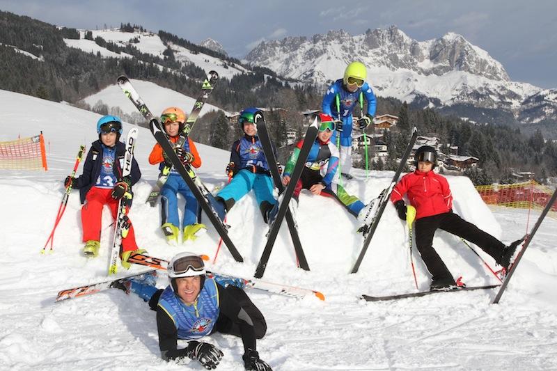 Erstes Kiddy´s Race der Skischule Reith bei Kitzbühel war voller Erfolg.