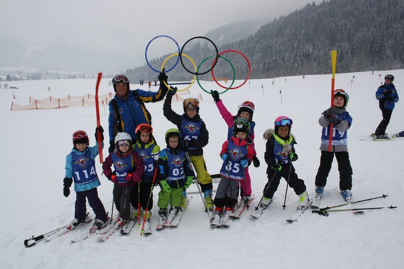 Die Skikinder haben in der Skiwoche sehr viel gelernt und unheimlich viel Spaß gehabt.