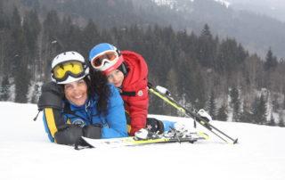 Als Highlight jeder Skischul-Woche findet jeden Donnerstag auf der Reither Streif das Kiddys Race der Skischule Reith bei Kitzbühel statt.