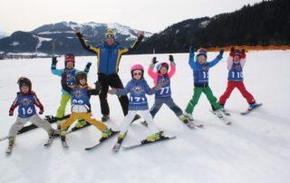 Rennläufer von morgen - Skischule Reith bei Kitzbühel
