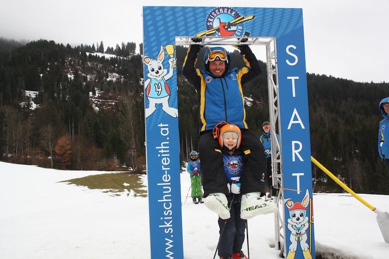 Beim großen Kiddy´s Race auf der Reither Streif geben die Ski-Kids alles und zeigen TOP-Leistungen.