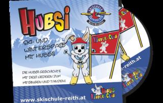 Geschichten von HUBSI - dem beliebten Maskottchen der Skischule Reith bei Kitzbühel