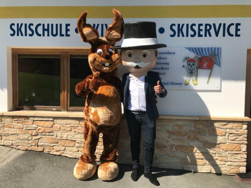 Die Skischule Reith bei Kitzbühel ist offizieller Partner der Monopoli-Kitzbühel-Editione
