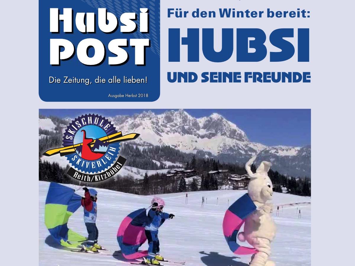 Die Skischule Reith ist startklar für den Winter. Die HUBSI Post informiert, auf was sich die kleinen und große Skigäste im Winter 2018/19 freuen können.