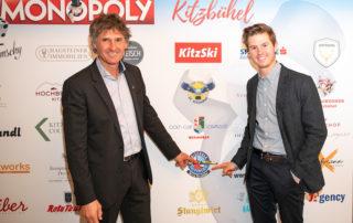 Skischule Reith bei Kitzbühel ist Partner der Kitzbühel Monopoly Edition