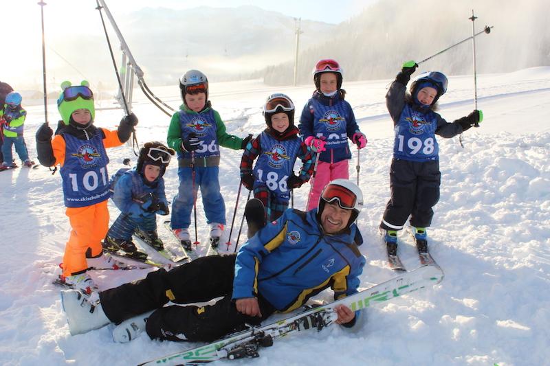 Skirennen auf der Reither Streif!