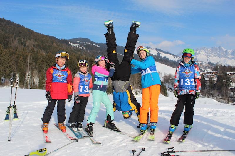 Das Kiddy´s Race der Skischule Reith bei Kitzbühel ist ein wöchentlicher Highlight in der Skischulwoche