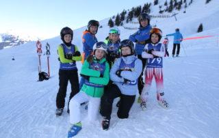 Beim Kiddy´s Race zeigen die Skikinder was sie in der Skischule Reith bei Kitzbühel gelernt haben