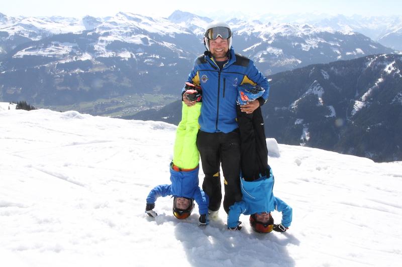 Skifahren bis nach Ostern