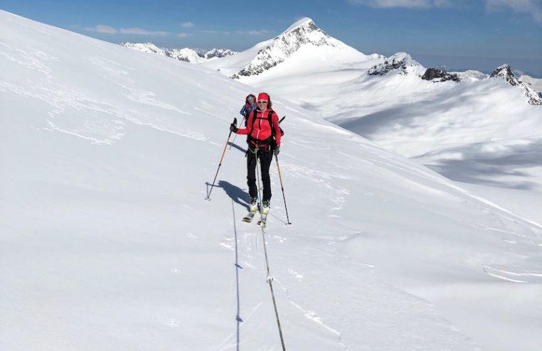 Variantenskifahren und Skitouren mit der Skischule Reith bei Kitzübhel