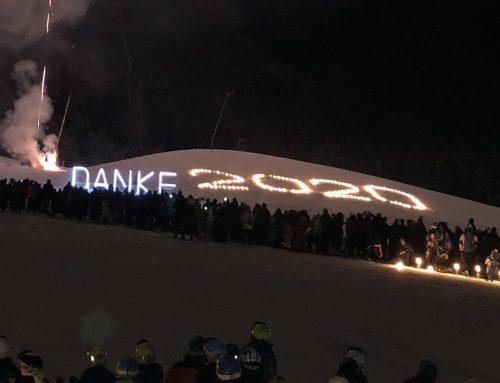 Mit einer spektakulären Skishow begrüßt die Skischule Reith das neue Jahr