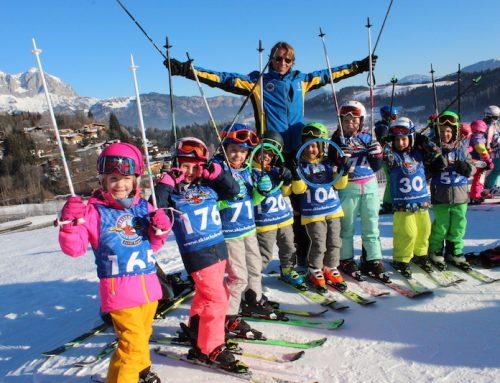 Spezial-Skikurs für Kindergarten und Volksschulkinder in Reith