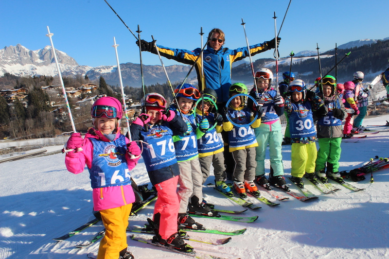 Spezial-Skikurs für Kindergarten- und Volksschulkinder in Reith
