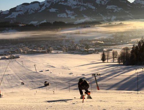 Ski- und Materialtests auf der Reither Streif