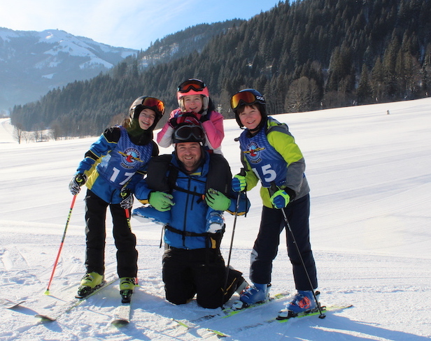 Kiddy´s Race auf der Reither Streif