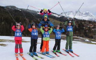 Kiddy´s Race der Skischule Reith bei Kitzbühel