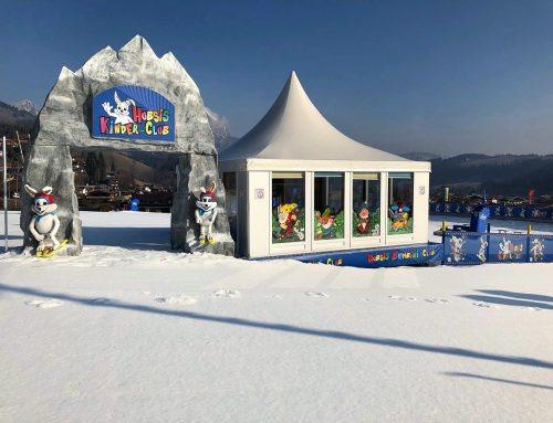 Frühlings-Skifahren!